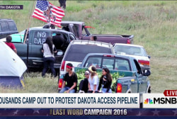 The protests at Standing Rock