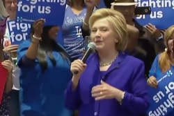 Clinton camp mum on specific debate prep