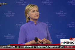 Hillary Clinton on American exceptionalism