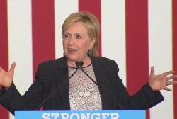 The latest Hillary Clinton conspiracy theory