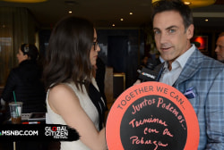 Carlos Ponce Aims to End Poverty