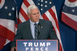 Pence calls Kasich 'great', Ohio crowd boos