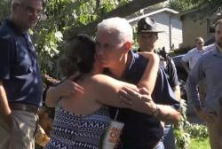 Gov. Pence tours Indiana tornado damage