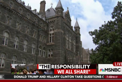 Georgetown University reckons with its past