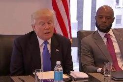 Trump prepares visit to black church