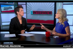 Did Kellyanne Conway lie to Rachel Maddow?