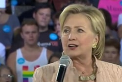 Clinton surrogates out in full force on...