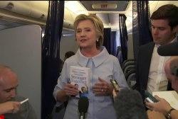 Clinton maintains confidence as polls tighten