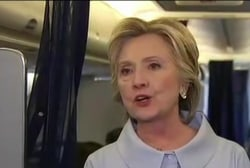Clinton suggests Russia working to elect...