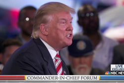Trump on immigration for undocumented vets