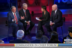 Scrutinizing Trump's plan for new generals