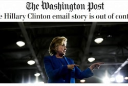 Wash. Post editorial: Clinton email story...