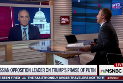 Kasparov: Putin 'Eyes' U.S. Election