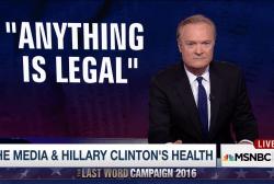 Political media loses its mind over Clinton
