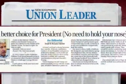 Paper breaks 100-year record with endorsement