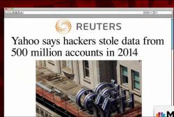 500M Yahoo accounts stolen in 2014