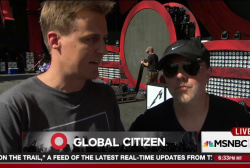 Lars Ulrich on Global Citizen Festival