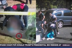 Analyzing video of the Charlotte shooting