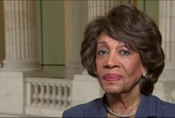Rep. Waters sounds off on Trump's rhetoric