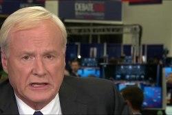 Matthews: First debate 'embarrassing' for...