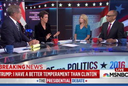 Trump hurt by erratic debate demeanor