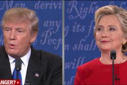 Trump, Clinton face-off in fiery first debate