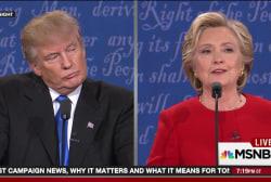 Trump walks right into Clinton's debate trap