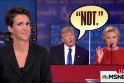 Trump brings distinct bizarreness to debate