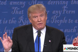 Trump demeanor takes focus off fact checking