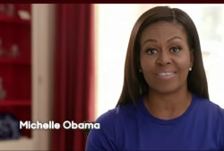 Michelle Obama featured in new Clinton ad