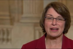 Klobuchar on Clinton's outreach to...