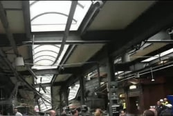N.J. train accident in Hoboken terminal