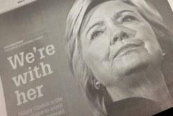 Clinton endorsement triggers death threats