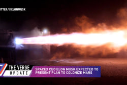 SpaceX CEO reveals plans to colonize Mars