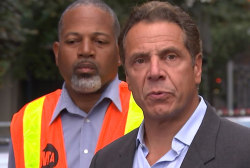 Cuomo tells commuters to 'feel safe' Monday
