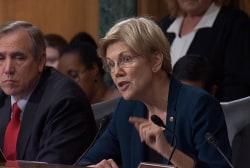 Sen. Warren lays into Wells Fargo CEO