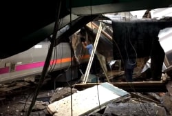 See aftermath of Hoboken, N.J. train crash