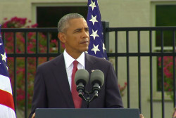 Pres. Obama marks 15th anniversary of 9/11
