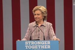 Clinton: Trump believes in the 'strongman...