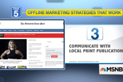 5 ways to market your business offline