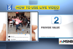 5 ways to include live video on social media