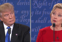 Trump, Clinton clash over NYC murder numbers