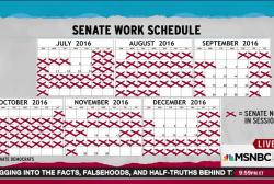 Congress breaks for 46-day weekend