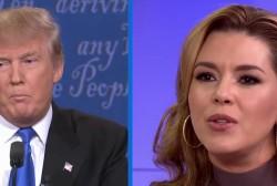 Trump unfavorable to women post-debate