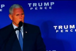 Can Pence reverse the trend?