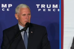 Pence's job tonight: 'Clean up' Trump's mess