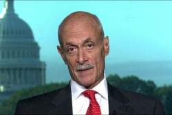 Fmr. Homeland Security head on backing...