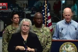 Florida Gov. calls for mandatory evacuation