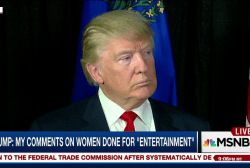 Trump: Past remarks on women for...