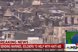US sends Marines to help storm-struck Haiti